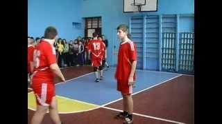 Волейбол Соревнование ОШ Демьяновка и ОШ №2 Ялта 12 12 2014г
