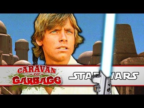 The Quest For Skywalker's Lightsaber - Caravan Of Garbage