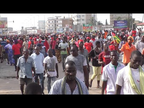 Togo: Opposition protesters demand resignation of longtime president