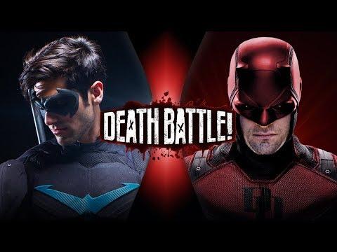Nightwing VS Daredevil (DC VS Marvel)   DEATH BATTLE!