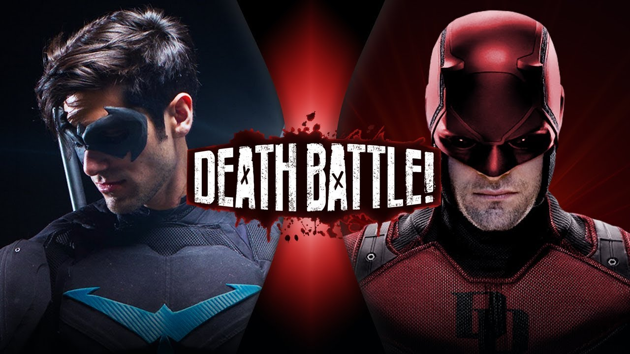 Nightwing VS Daredevil (DC VS Marvel) | DEATH BATTLE!