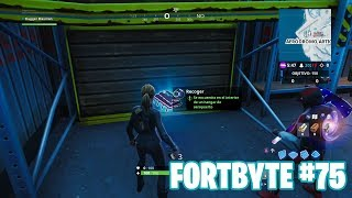 Fortnite Battle Royale ? Fortbyte Challenges How to get the Fortbyte #75