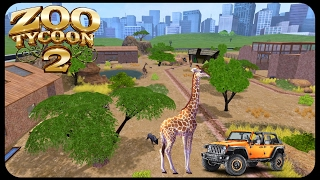 Savanah Jeep Tour | Zoo Tycoon 2 Ultimate Collection Exhibit Build