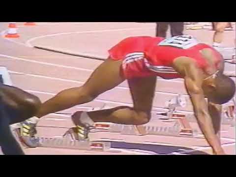 100M Ben Johnson Calvin Smith   Berlin 1987