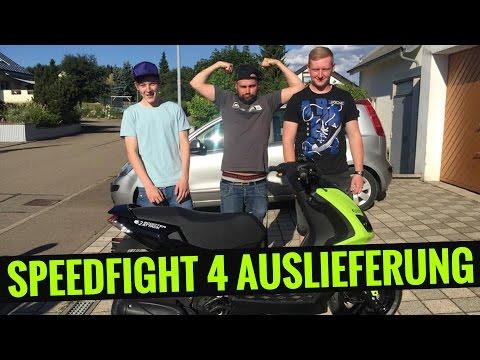Scooter-Attack presents   Peugeot Speedfight 4 Auslieferung