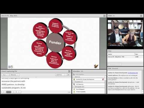 Introduction to Program Evaluation Webinar