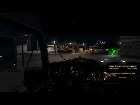"""Charlas de camion """"American Truck Simulator"""" de Santa Cruz a Puerto San Carlos"""