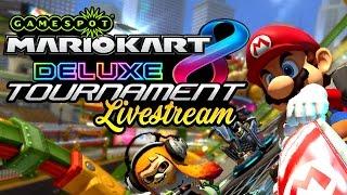 The GameSpot Mario Kart 8 Deluxe Tournament Livestream