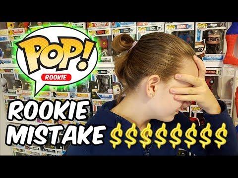 ROOKIE POP Vinyl Mistake