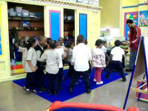 The Brooklyn Brownstone School's PreK and Mr. Green 1