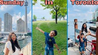 ನಮ್ಮ Sunday in Toronto Harbourfront ||ಯಾಕೆ ಯಾರೂ Mask ಹಾಕ್ತಿಲ್ಲ ||ಹೇಗಿದೆ Toronto Covid cases