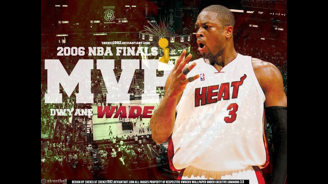 Heat Wallpaper Hd Dwyane Wade One Man Show Flashback Nba Finals 2006 Hd