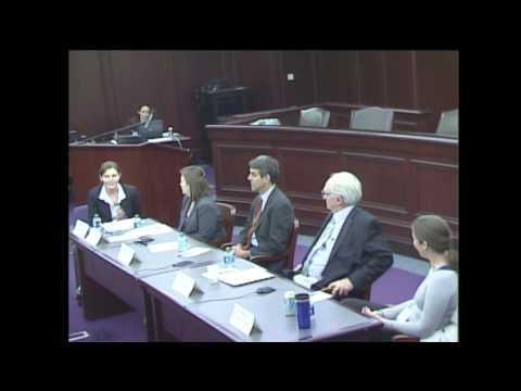 2012 Marine Law Symposium Panel 6 and Closing Remarks