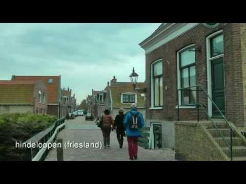 NETHERLANDS Hindeloopen, Friesland (hd-video)