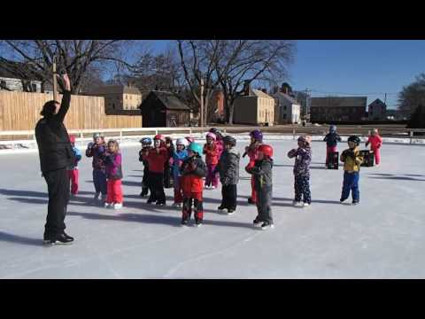 Get Out and Skate with the Little Harbour School First Graders: Portsmouth, NH