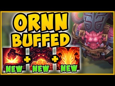 WTF! OVERBUFFED ORNN DEALS TOO MUCH DAMAGE! BUFFED ORNN TOP GAMEPLAY SEASON 9! - League of Legends thumbnail