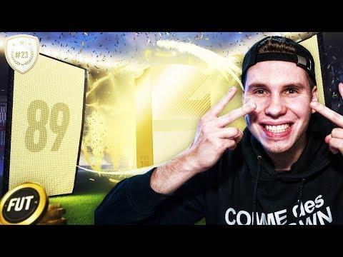 FANTASTYCZNY WALKOUT 89+ W PACZCE!! - FIFA 18 DRUŻYNA IKON [#23]