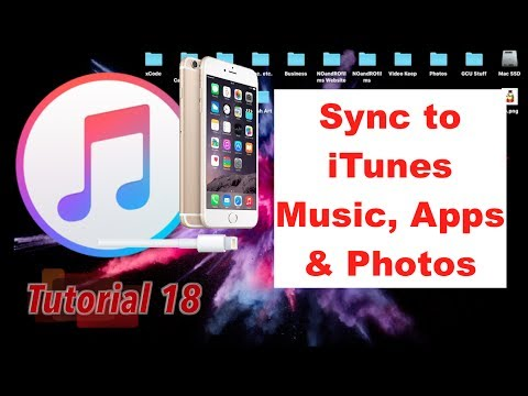 Sync Music, Apps and Photos through iTunes 12.6 [Full Guide] | Tutorial 18