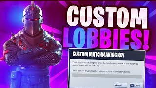 (Na Est) Fortnite Custom Matchmaking Solos/duos/squads ps4,pc,xbox,switch !code !epic