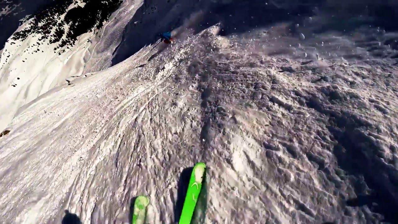 Deep-snow skiing grindelwald