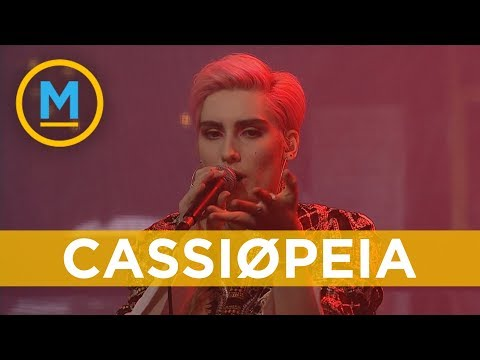 Cassiøpeia performs 'Better' after being this week's chosen artist on 'The Launch' | Your Morning