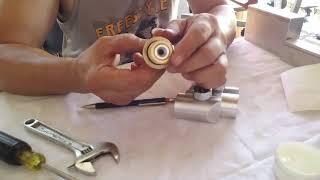 Aluminum Offset with adjustable regulator