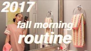 2017 FALL MORNING ROUTINE