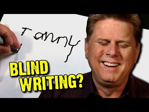 Can Blind People Write With A Pen?