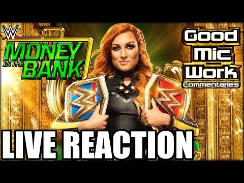 WWE Money In The Bank 2019 LIVE REACTION