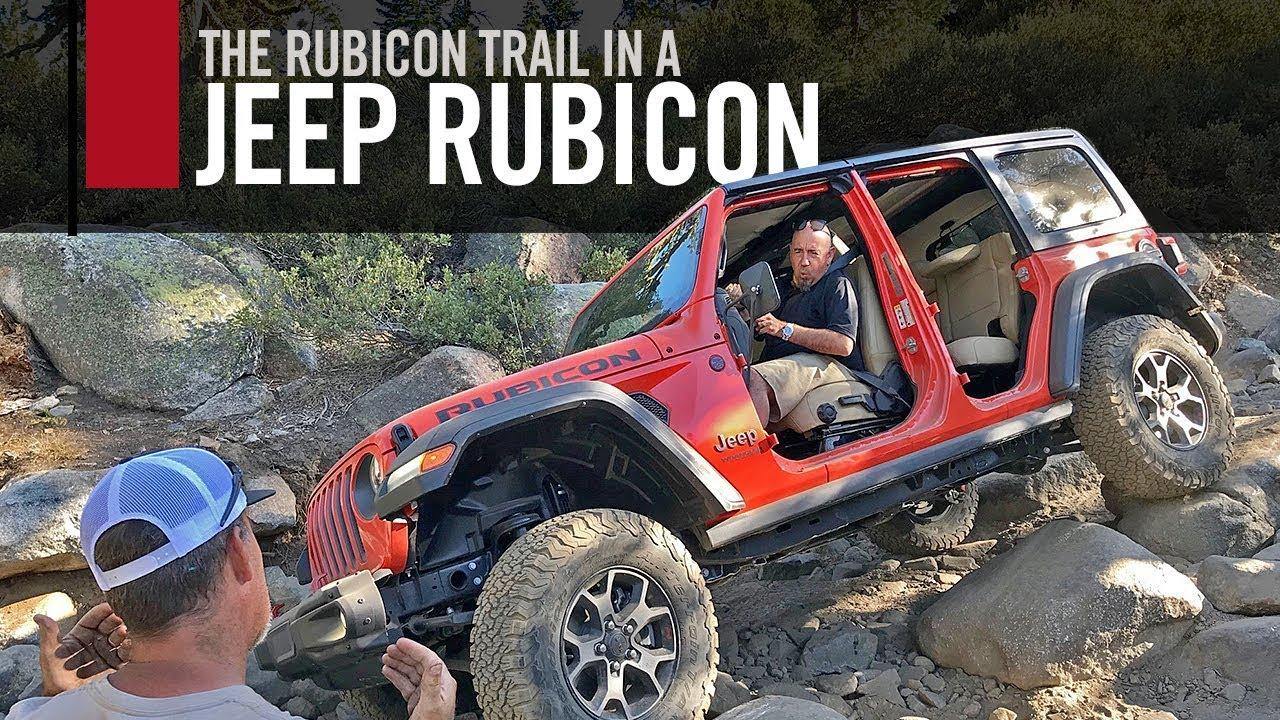 2019 Jeep Wrangler Rubicon On The Rubicon Trail Youtube