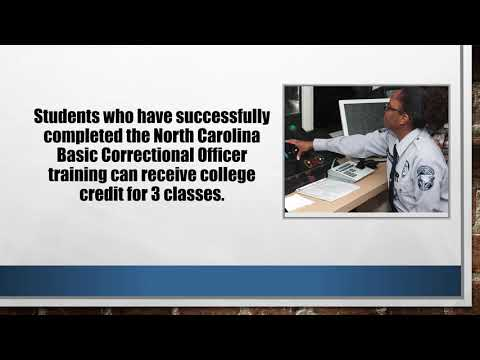 Criminal Justice Technology Program at Richmond Community College