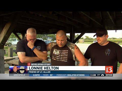 Lt. Allen's friends remember him fondly