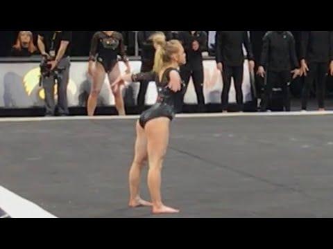 Charlotte Sullivan Floor 2018 vs Ohio State 9.875