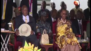President Kenyatta joins other leaders at Museveni's swearing-in