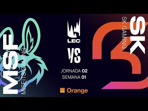 LEC EN CASTELLANO - MISFITS VS SK - LEAGUE OF LEGENDS EUROPEAN CHAMPIONSHIP - DÍA 2 #LECENLVP