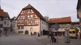 Walk around Wangen im Allgäu, Germany