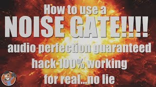Baixar WHAT YOU NEED TO KNOW BEFORE USING A NOISE GATE! Better Audio