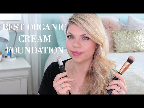 BEST ORGANIC CREAM FOUNDATION! Au Naturale Zero Gravity C2P Cream Foundation Stick