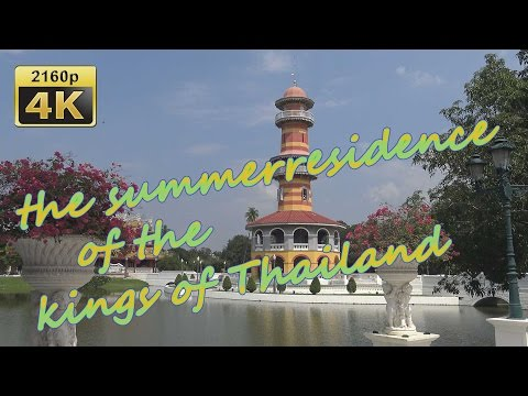 Bang Pa-in Palast in Ayutthaya - Thailand 4K Travel Channel