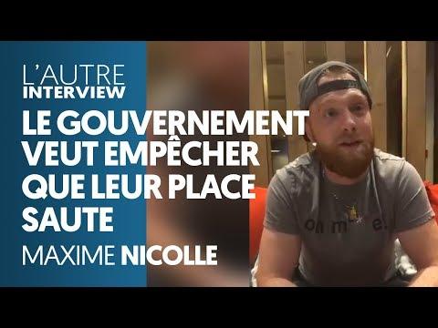GILETS JAUNES : LE GOUVERNEMENT VEUT EMPÊCHER QUE LEUR PLACE SAUTE - MAXIME NICOLLE