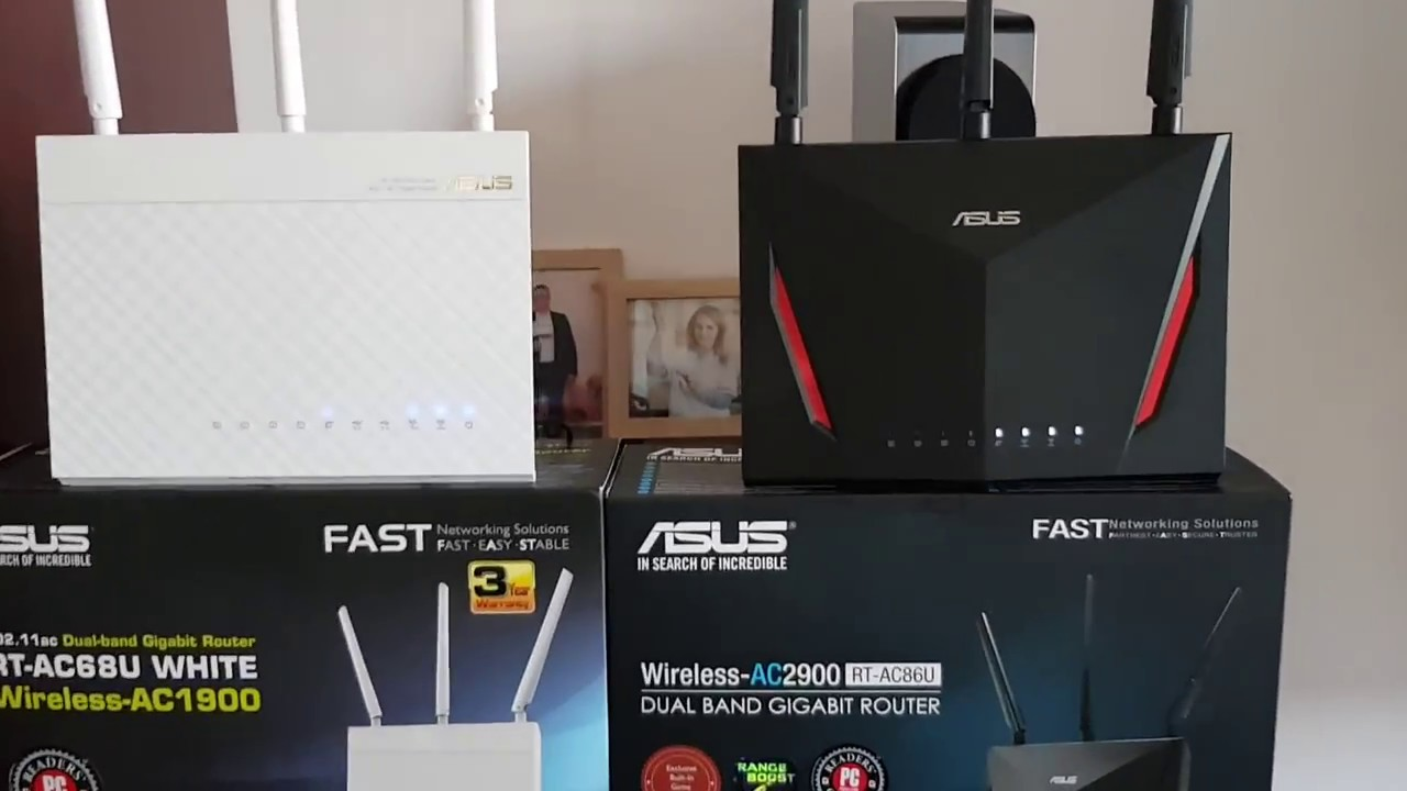 Asus RT-AC86U AC2900 Review And Comparison to Asus RT-AC68U Part 1