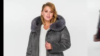Женские зимние пальто большого размера до 78 р