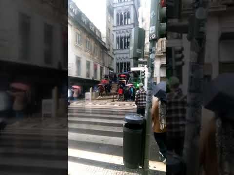 Lisboa santa justa elevador