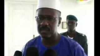 Décès de Nelson Mandela: Oumar Tatam Ly apporte le soutien du Mali au peuple Sud Africain
