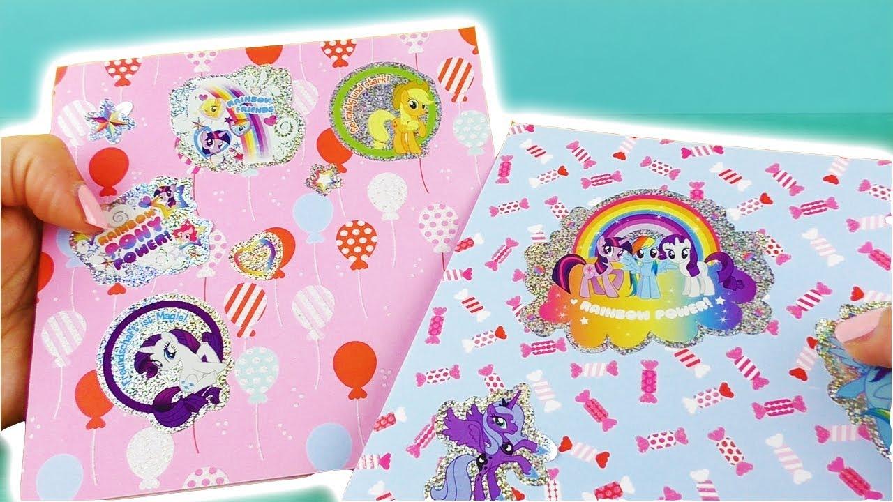 Diy My Little Pony Geburtstagskarte Einfache Diy Geschenk Idee