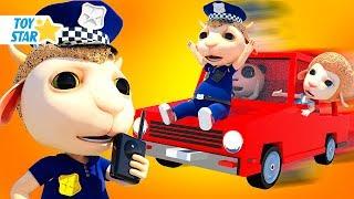 Familia de Dolly | Policía de Superhéroe Bebé Patrulla en la Ciudad #177