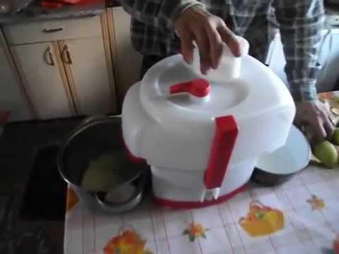 садовая соковыжималка для яблок - YouTube