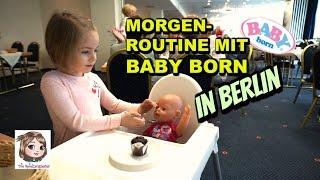 MORGENROUTINE IM HOTEL MIT BABY BORN ☀️ Urlaub in BERLIN 🐻 Get Ready with me