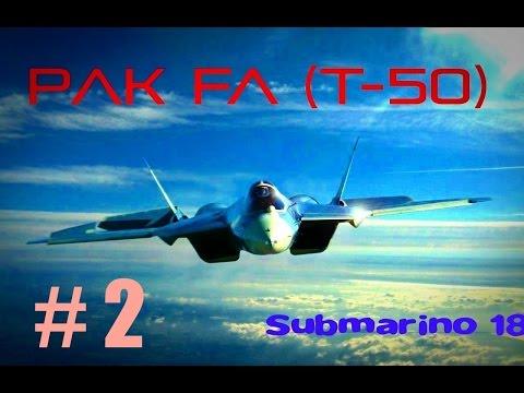 PAK FA (T-50) Documental -parte 2