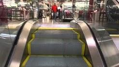 Painted Montgomery Twinkie-M Escalators At Dillard's Carolina Place Mall In Pineville, NC